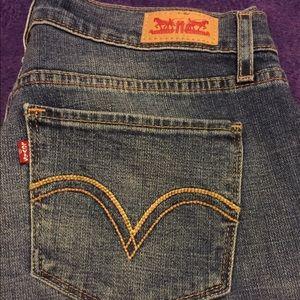 Levis  blue jeans